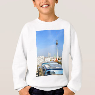 View of the Television Tower in Berlin, Germany Sweatshirt