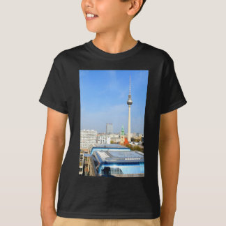 View of the Television Tower in Berlin, Germany T-Shirt