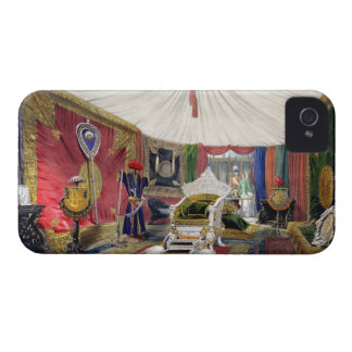 View of the tented room and ivory carved throne, i iPhone 4 Case-Mate case