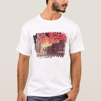 View of the Terrific Explosion at the Great Fire T-Shirt