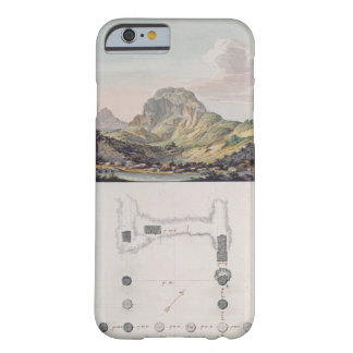 View of the Theatre at Sardis and a plan of the Io Barely There iPhone 6 Case