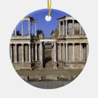 View of the theatre, begun 24 BC (photo) 2 Christmas Ornament