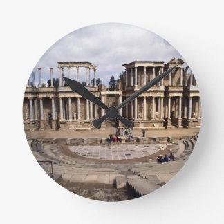 View of the theatre, begun 24 BC (photo) 3 Round Clock