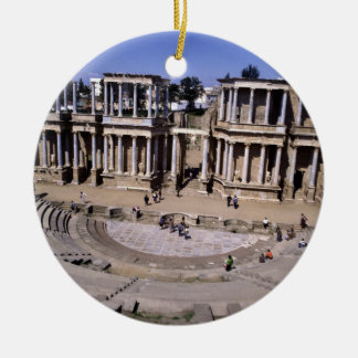 View of the theatre, begun 24 BC (photo) 4 Christmas Ornament