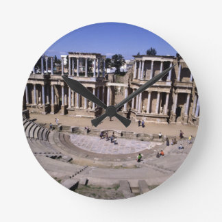 View of the theatre, begun 24 BC (photo) 4 Round Clock