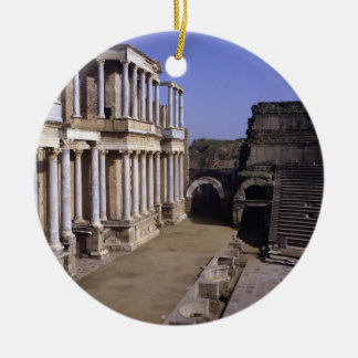 View of the theatre, begun 24 BC (photo) Christmas Ornament