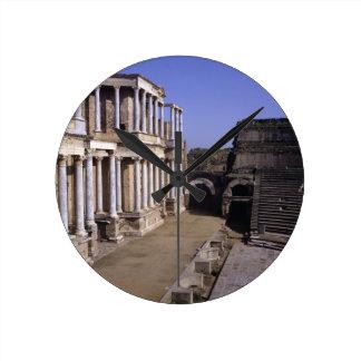 View of the theatre, begun 24 BC (photo) Round Clock