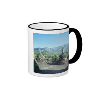 View of the three circular terraces coffee mugs