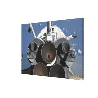 View of the three main engines canvas print