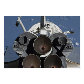 View of the three main engines poster