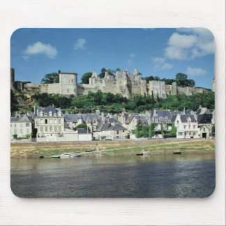 View of the town and castle mouse mat