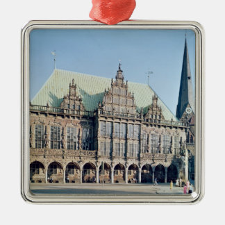 View of the Town Hall, built 1405-09 Christmas Ornament