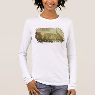 View of the Town Hall in the Market Square of Haar Long Sleeve T-Shirt
