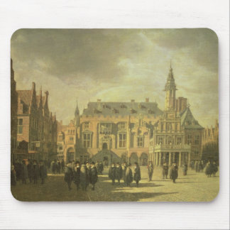 View of the Town Hall in the Market Square of Haar Mouse Mat