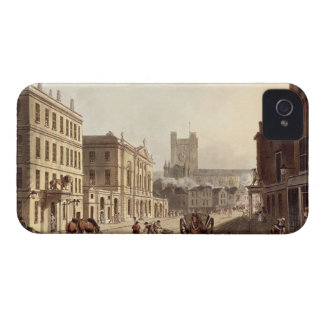 View of the Town Hall, Market and Abbey Church, fr iPhone 4 Case-Mate Cases