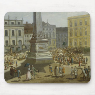 View of the Town Hall, Potsdam Mouse Mat