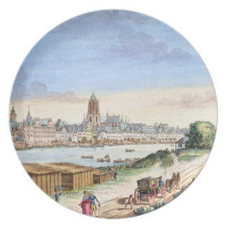 View of the Town of Frankfurt, facing south (print Plate