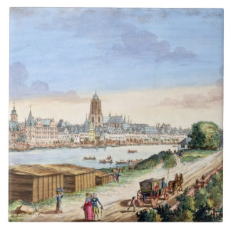 View of the Town of Frankfurt, facing south (print Tile