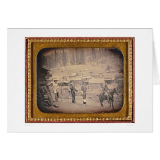 View of the town of Volcano, California (40214) Greeting Card