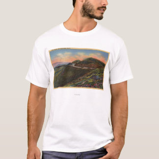 View of the Twin Peaks & Highway T-Shirt