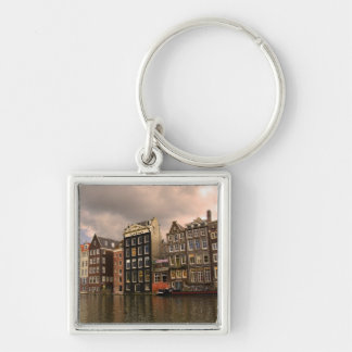 View of the unique architecture and gabled key ring