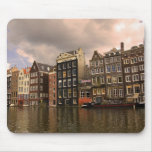View of the unique architecture and gabled mouse mat