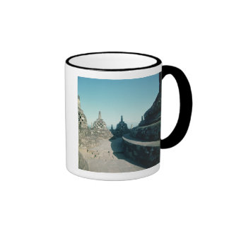 View of the uppermost circular terrace ringer mug