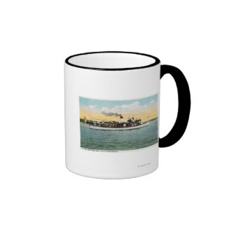 View of the US Mail Boat Uncle Sam Coffee Mug