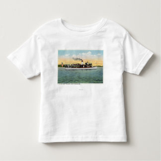 View of the US Mail Boat Uncle Sam Toddler T-Shirt