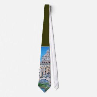 View of the Vatican City Tie