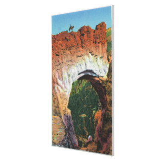 View of the Victorian Arch Canvas Print