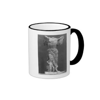 View of the Victory Samothrace in Louvre museum Mug