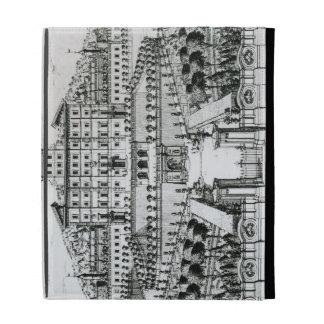 View of the Villa Aldobrandini from the garden (en iPad Folio Cases