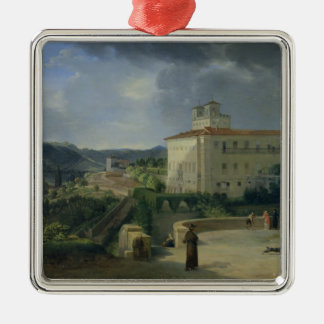 View of the Villa Medici, Rome, 1813 Christmas Ornament
