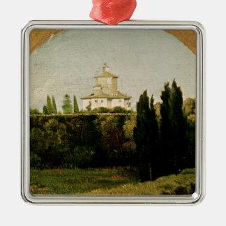 View of the Villa Medici, Rome Christmas Ornament