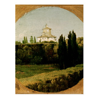 View of the Villa Medici, Rome Postcard