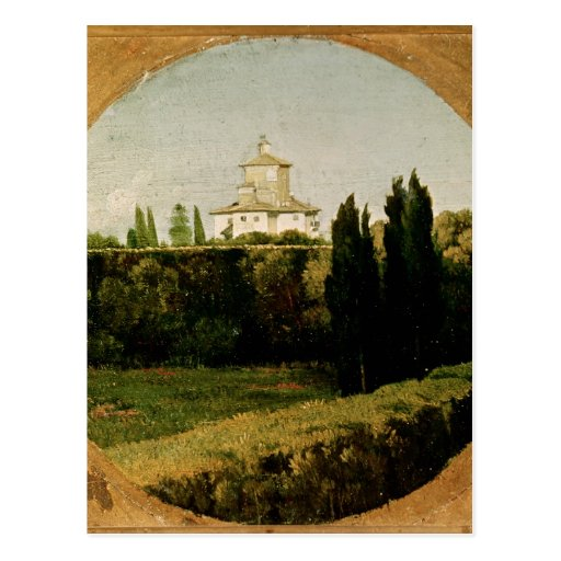 View of the Villa Medici, Rome Post Cards