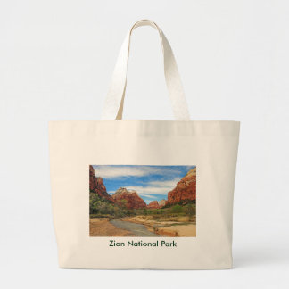 View of the Virgin River 2 Large Tote Bag