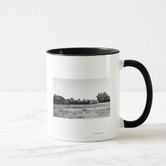 View of the Virginia & Truckee Railroad Train Mug