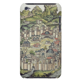 View of the walled city of Constantinople, from th iPod Touch Cases