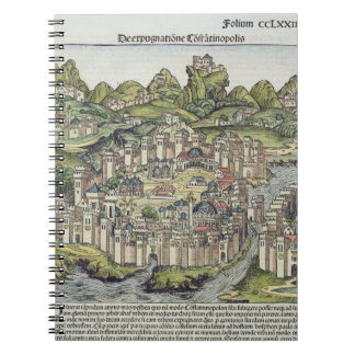 View of the walled city of Constantinople, from th Notebook