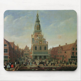 View of the Weighhouse and the Cheese Market Mouse Mat