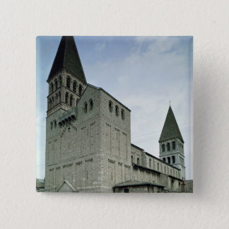 View of the west facade, 10th-11th century 15 cm square badge