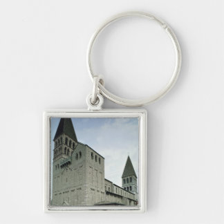 View of the west facade, 10th-11th century key ring
