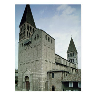 View of the west facade, 10th-11th century postcard