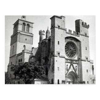 View of the west facade and tower postcard