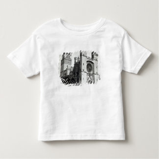 View of the west facade and tower toddler T-Shirt