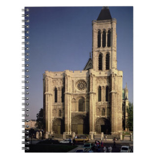 View of the West facade, begun c.1135 (photo) Spiral Notebook