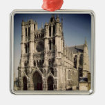 View of the West Facade, c.1220-70 Christmas Tree Ornament
