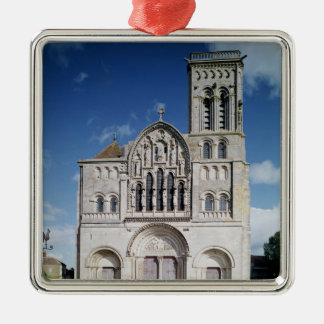 View of the west facade christmas ornament